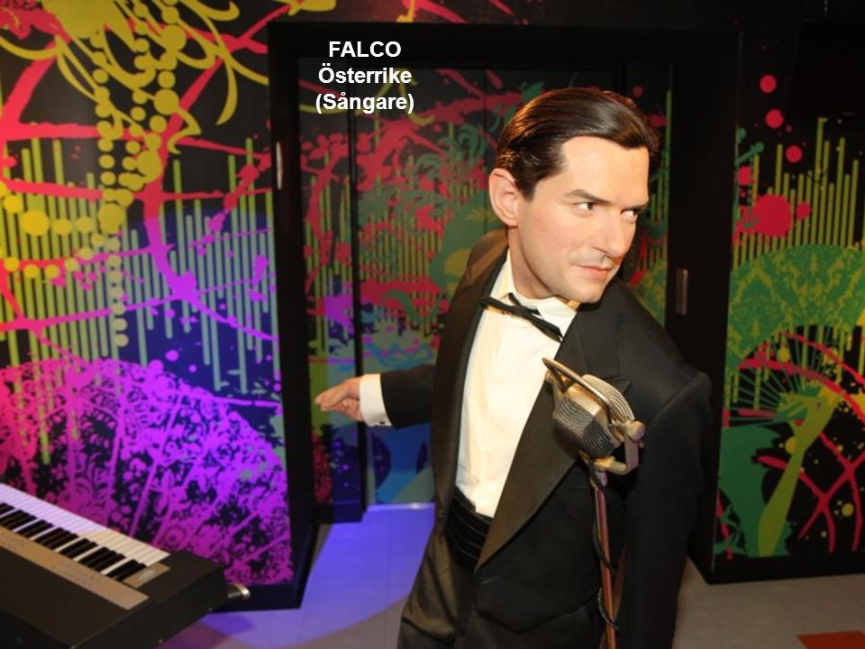 FALCO Österrike (Sångare)