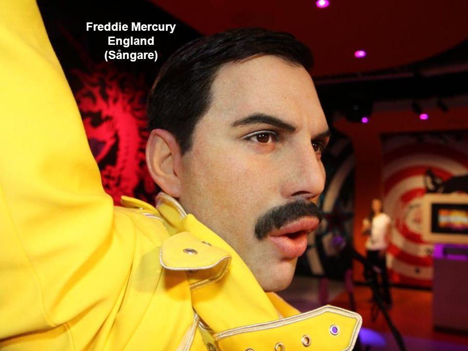 Freddie Mercury England (Sångare)