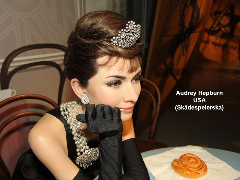 Audrey Hepburn USA (Skådespelerska)