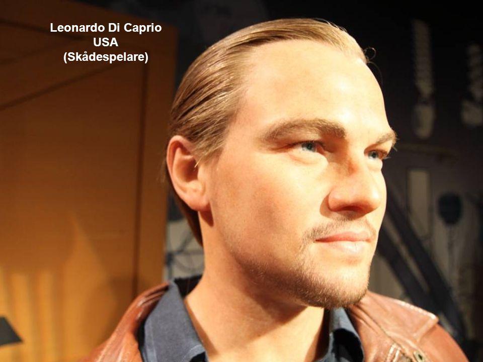 Leonardo Di Caprio USA (Skådespelare)
