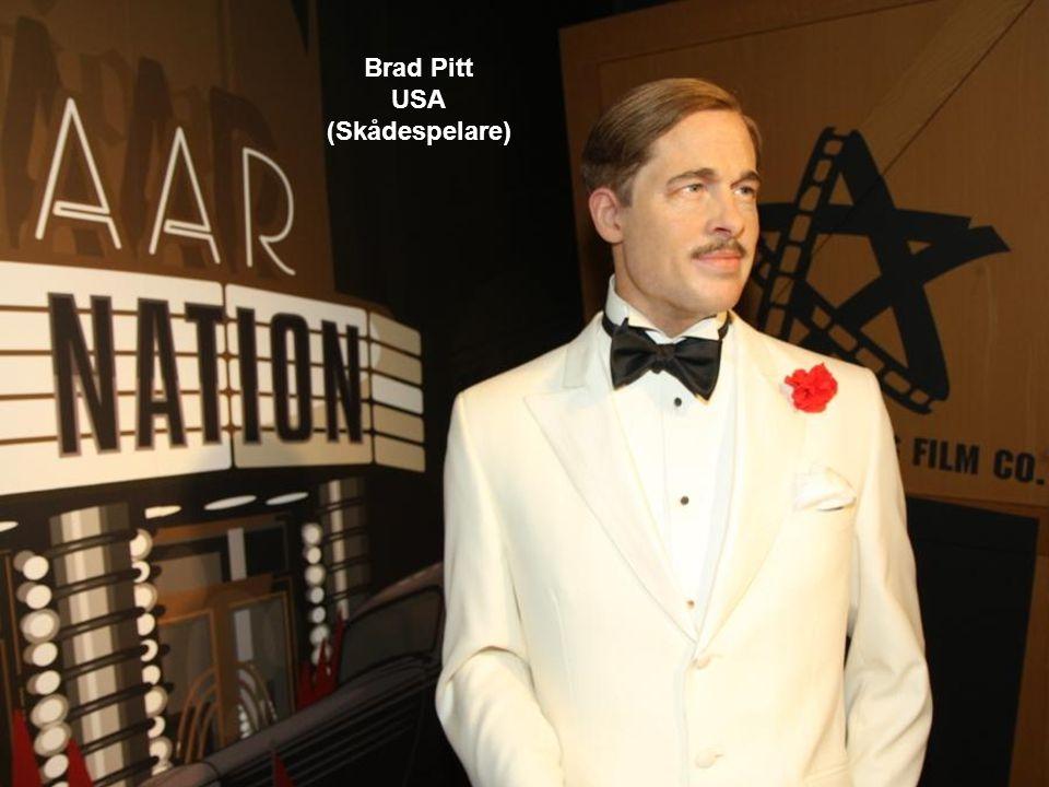 Brad Pitt USA (Skådespelare)