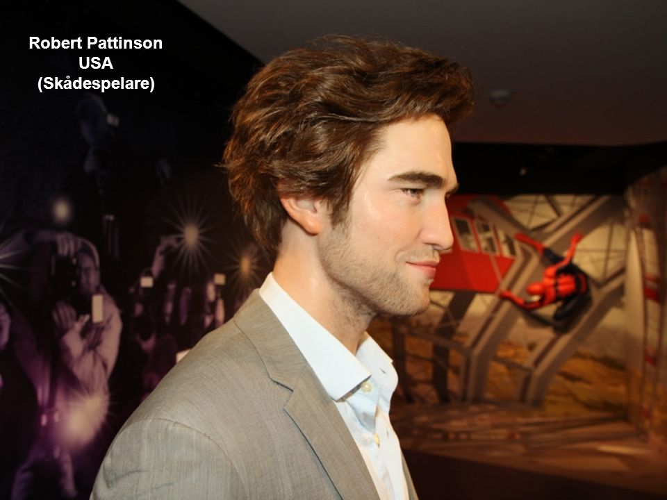 Robert Pattinson USA (Skådespelare)