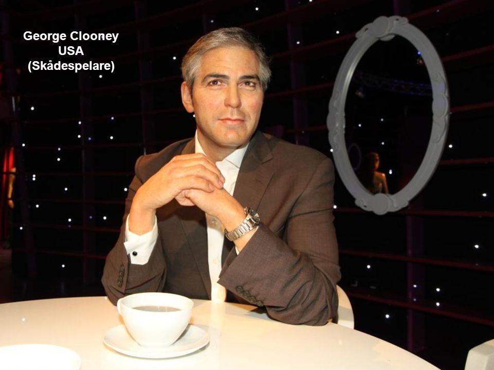 George Clooney USA (Skådespelare)