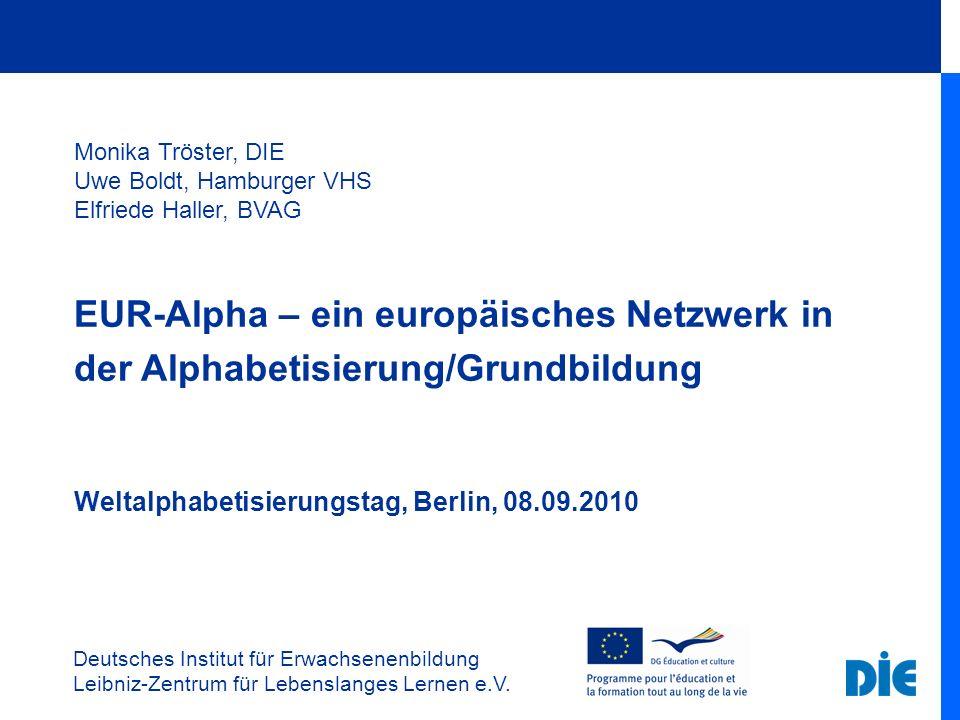 EUR-Alpha – ein europäisches Netzwerk in