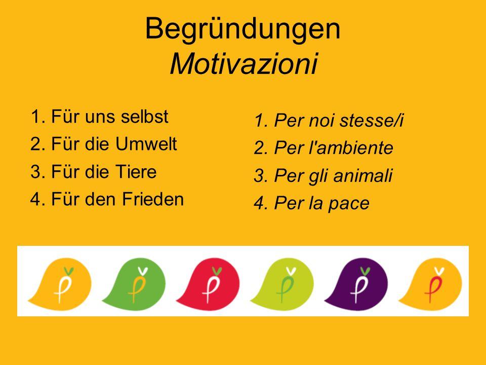 Begründungen Motivazioni