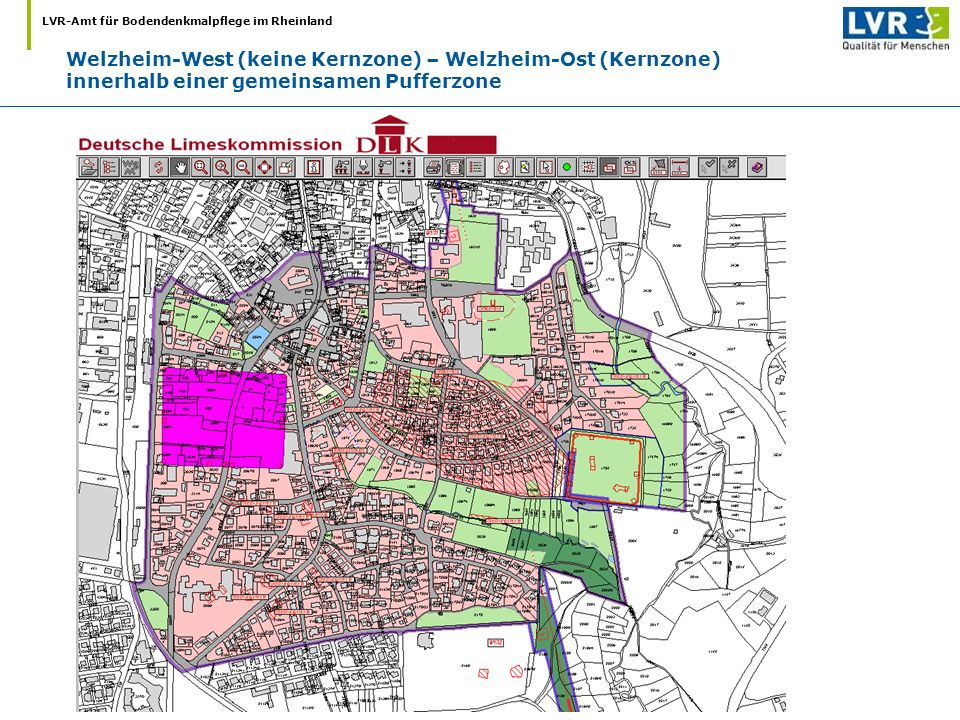 Welzheim-West (keine Kernzone) – Welzheim-Ost (Kernzone)