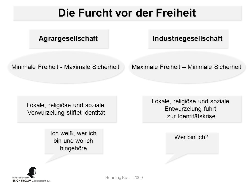 Die Furcht vor der Freiheit Industriegesellschaft