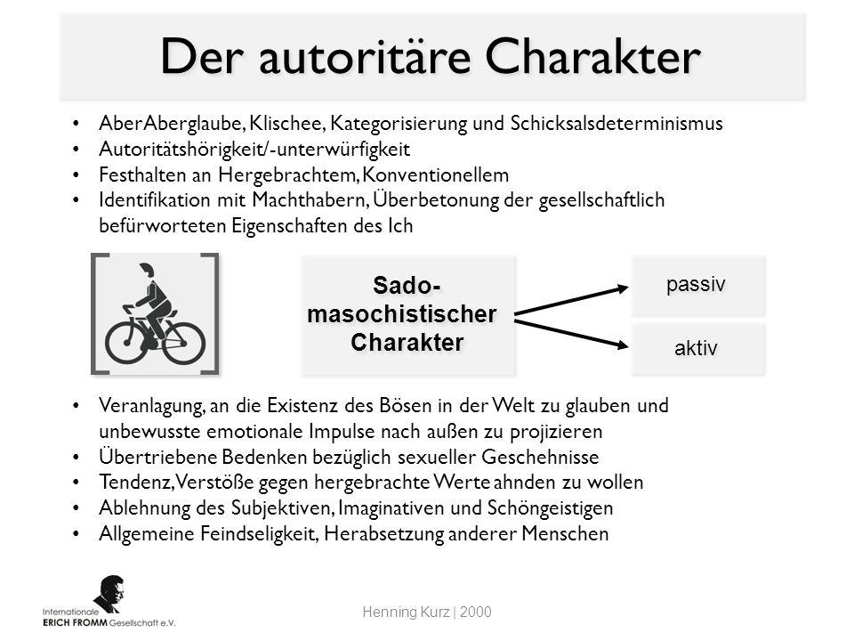 Der autoritäre Charakter