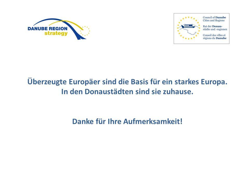 Überzeugte Europäer sind die Basis für ein starkes Europa.