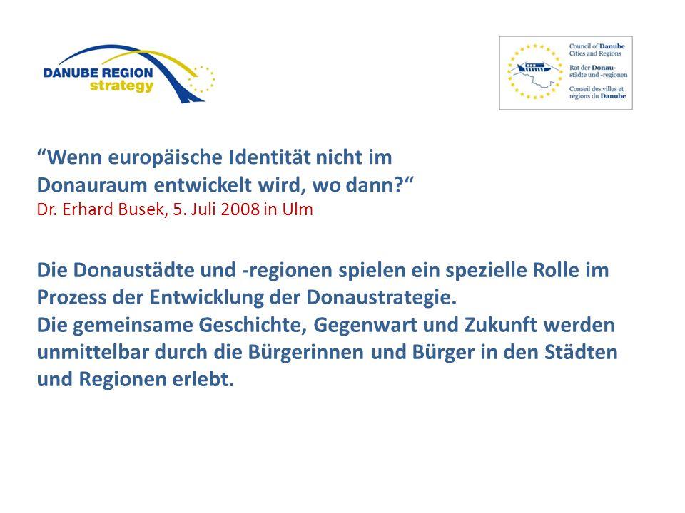Wenn europäische Identität nicht im Donauraum entwickelt wird, wo dann