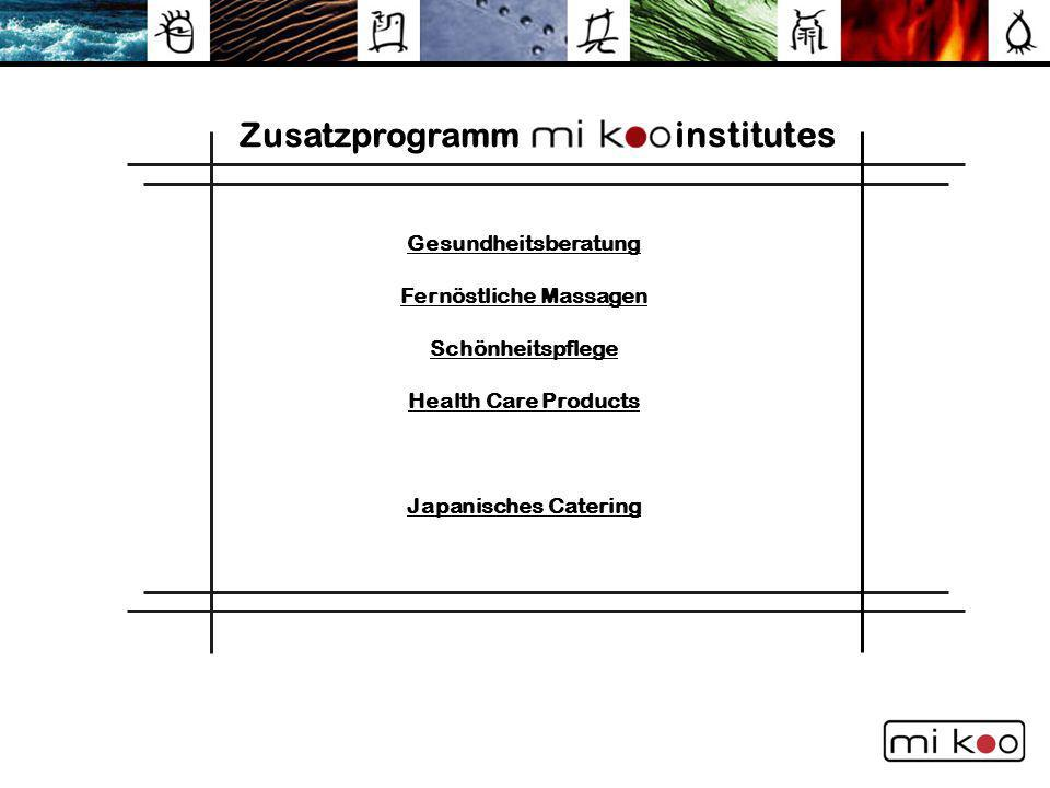 Zusatzprogramm institutes