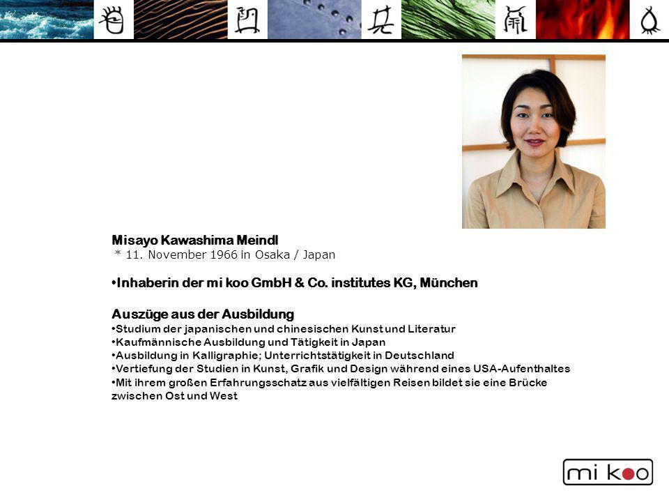 Misayo Kawashima Meindl