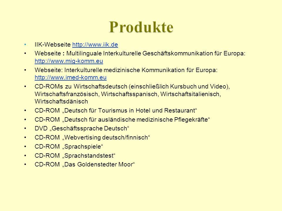 Produkte IIK-Webseite http://www.iik.de