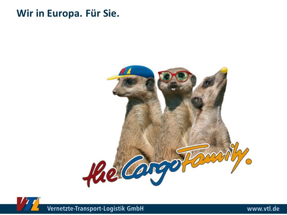 Wir in Europa. Für Sie.