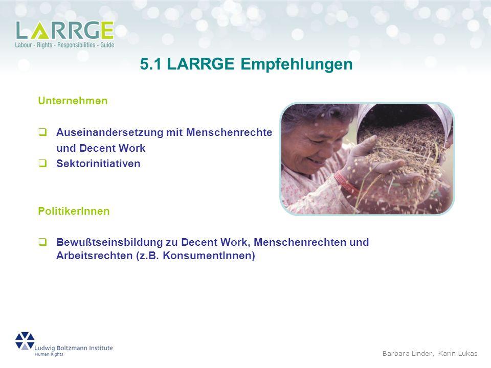 5.1 LARRGE Empfehlungen Unternehmen