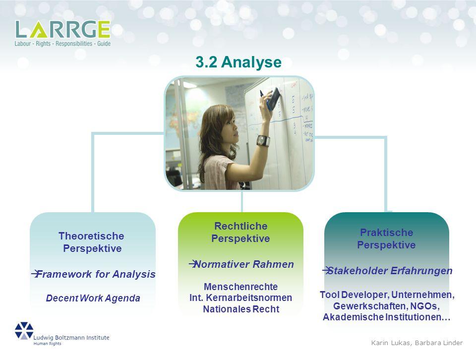 3.2 Analyse Karin Lukas, Barbara Linder 7