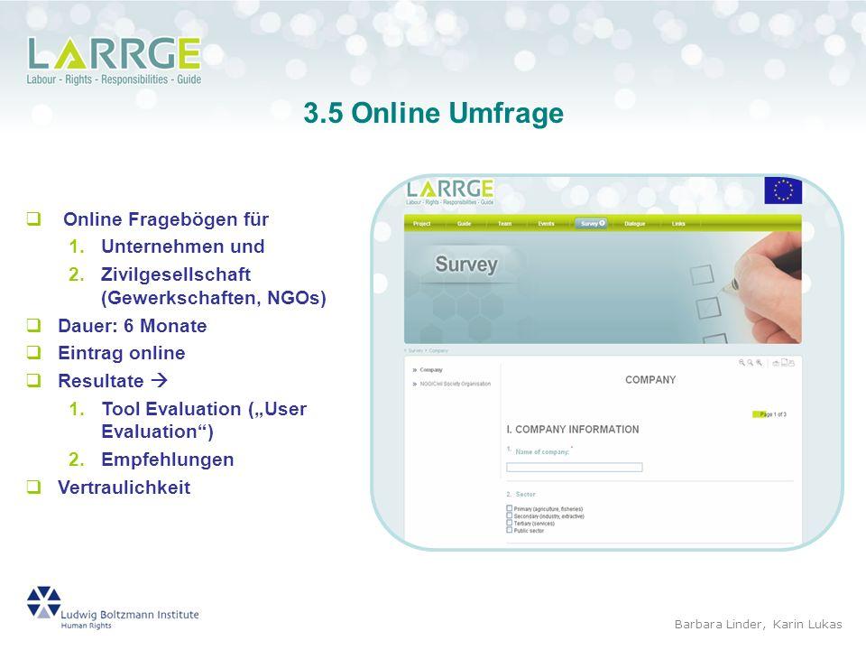 3.5 Online Umfrage Online Fragebögen für Unternehmen und