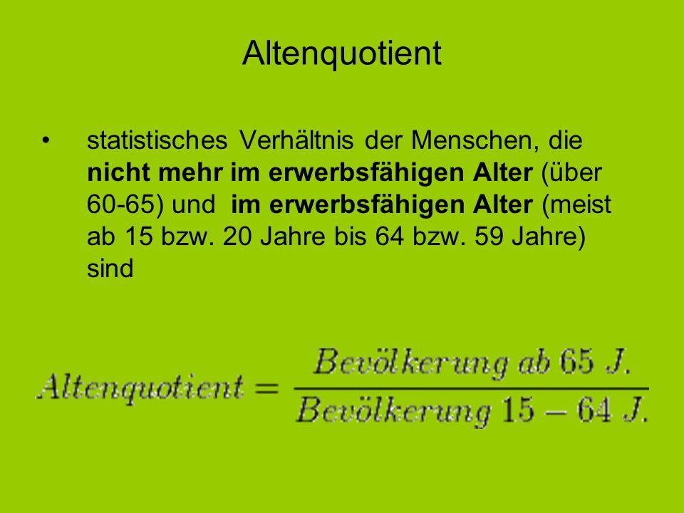 Altenquotient