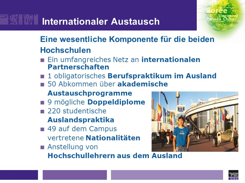 Internationaler Austausch