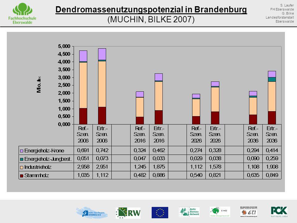 Dendromassenutzungspotenzial in Brandenburg