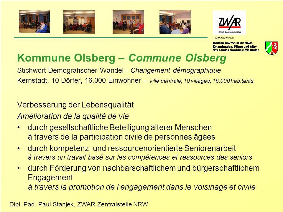 Kommune Olsberg – Commune Olsberg
