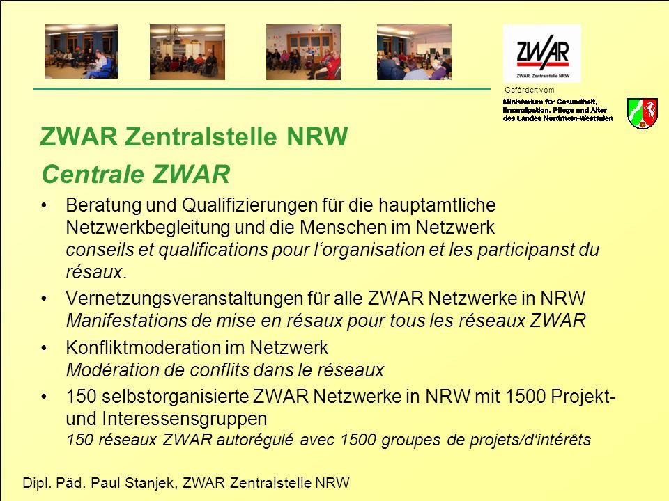 ZWAR Zentralstelle NRW Centrale ZWAR