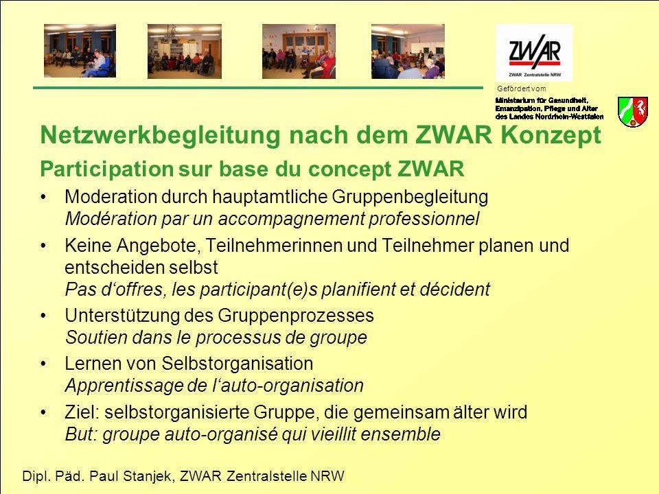 Netzwerkbegleitung nach dem ZWAR Konzept