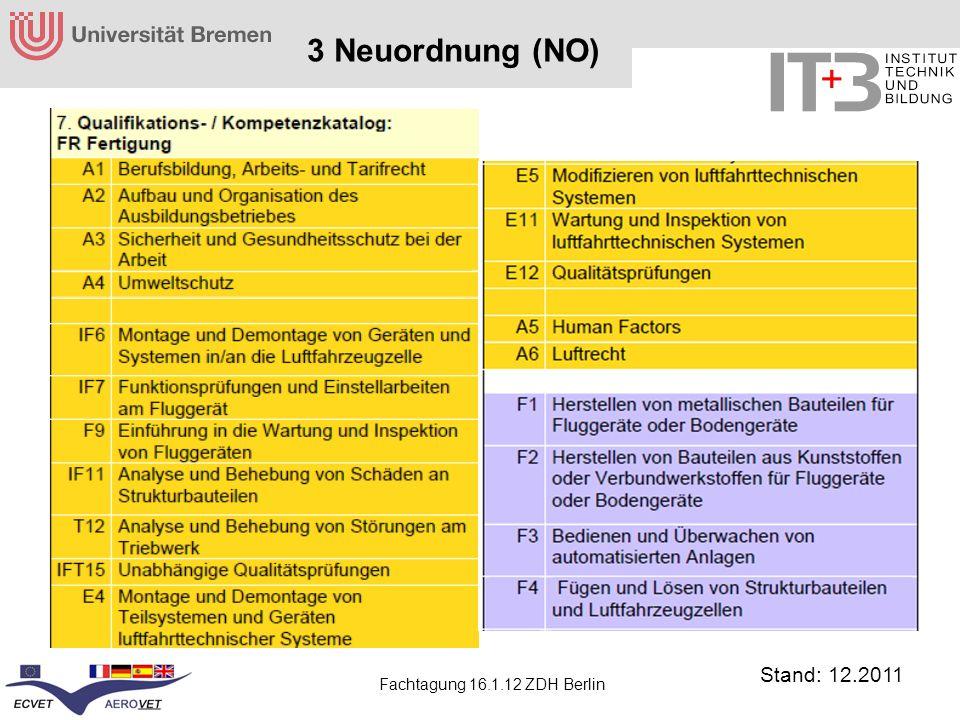 3 Neuordnung (NO) Stand: 12.2011