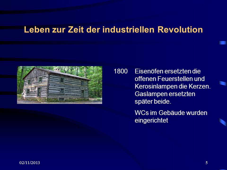 Leben zur Zeit der industriellen Revolution