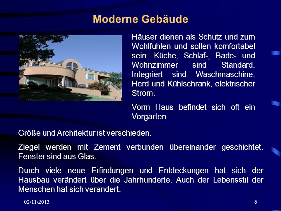 Moderne Gebäude