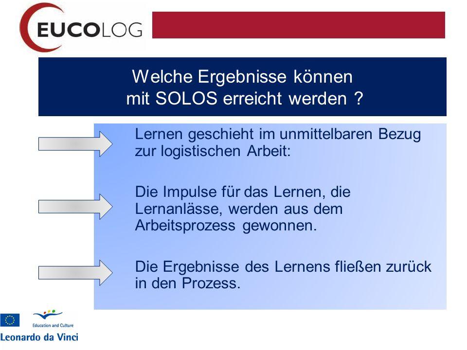 Welche Ergebnisse können mit SOLOS erreicht werden