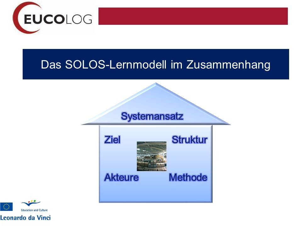 Das SOLOS-Lernmodell im Zusammenhang