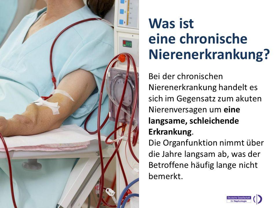 Was ist eine chronische Nierenerkrankung