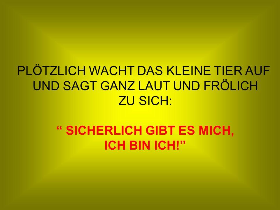 SICHERLICH GIBT ES MICH,