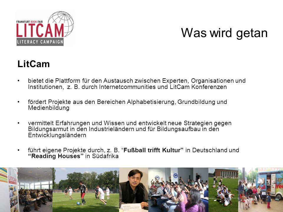 Was wird getan LitCam.