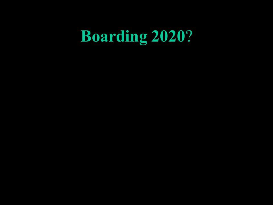Boarding 2020