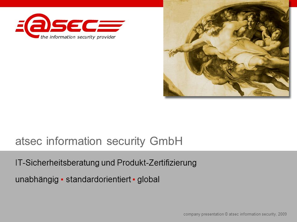 atsec information security GmbH