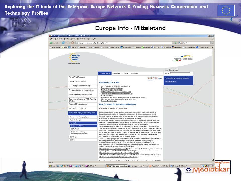 Europa Info - Mittelstand