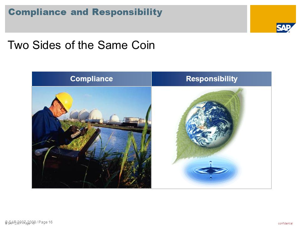 Compliance and Responsibility