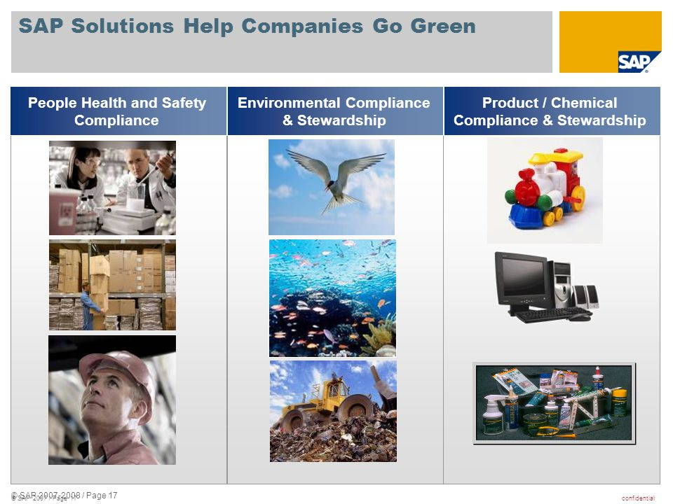 SAP Solutions Help Companies Go Green