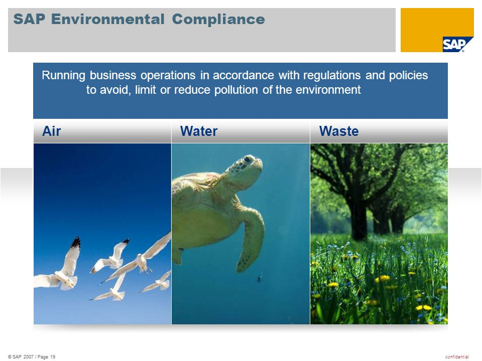 SAP Environmental Compliance