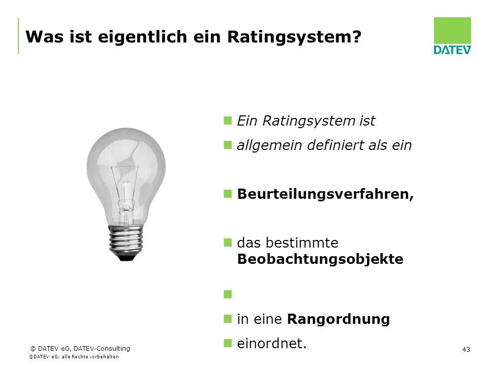 Was ist eigentlich ein Ratingsystem