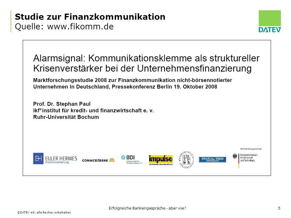Studie zur Finanzkommunikation Quelle: www.fikomm.de