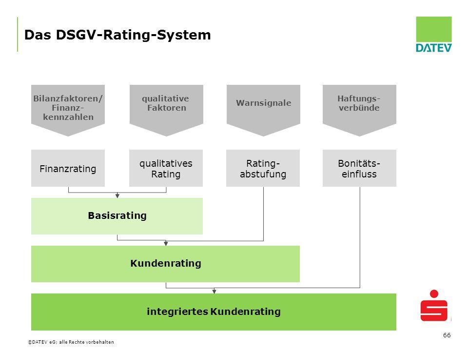 Das DSGV-Rating-System