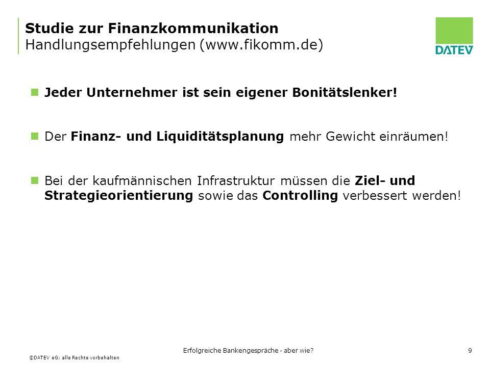 Studie zur Finanzkommunikation Handlungsempfehlungen (www.fikomm.de)