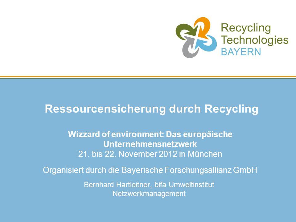 Bernhard Hartleitner, bifa Umweltinstitut Netzwerkmanagement