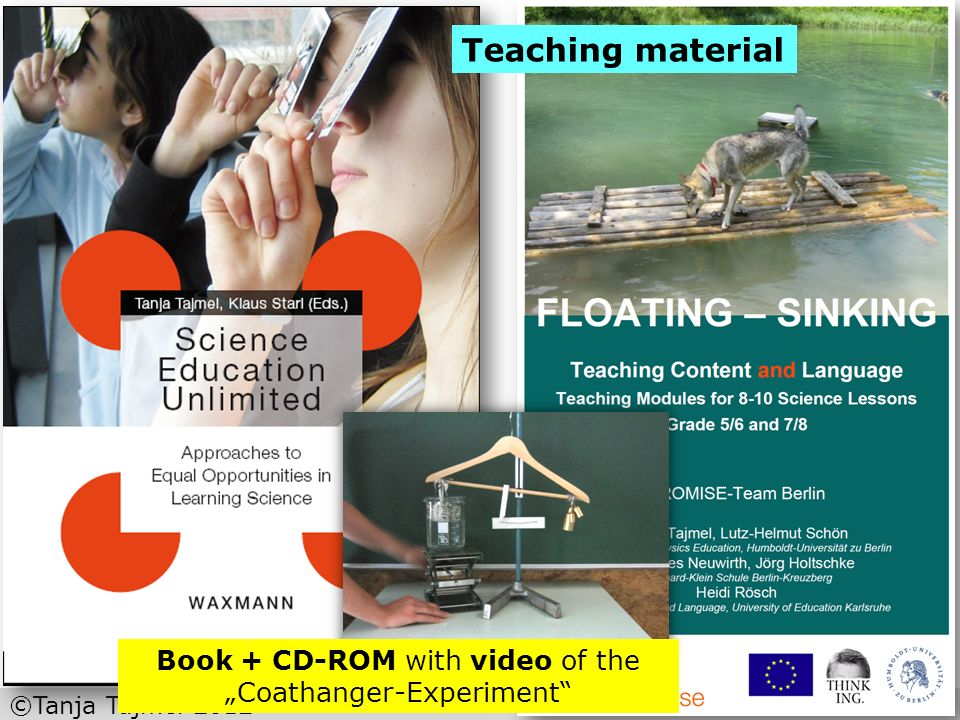 "Book + CD-ROM with video of the ""Coathanger-Experiment"