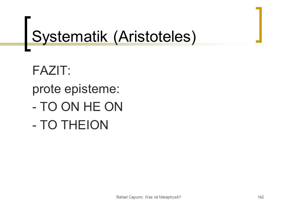 Systematik (Aristoteles)