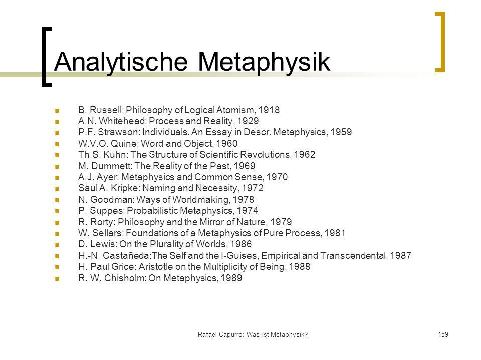 Analytische Metaphysik