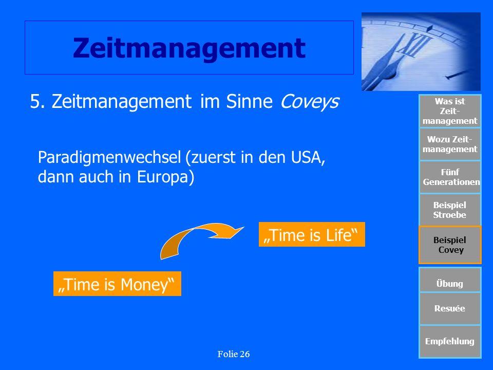 Was ist Zeit- management